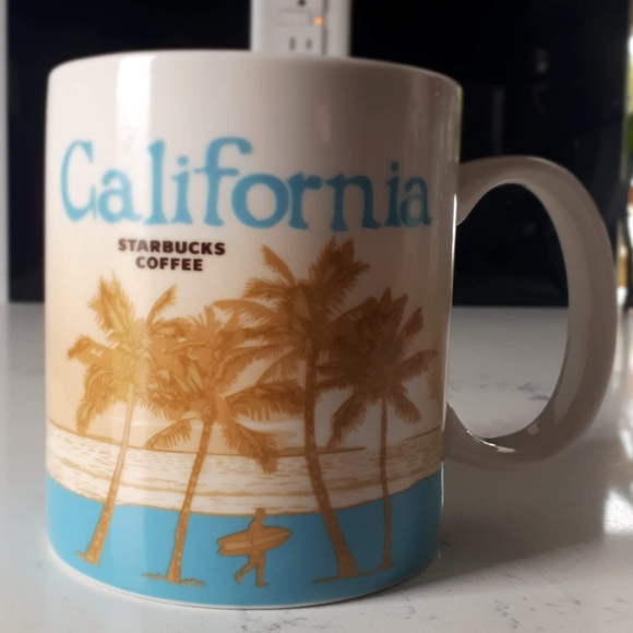 2011 Starbucks You Are Here Collection-CALIFORNIA